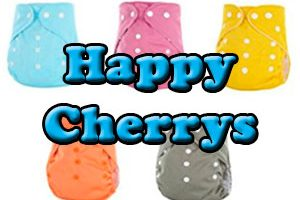 Pañales de tela Happy Cherry