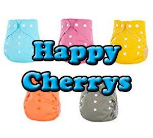 Pañales de tela Happy Cherry