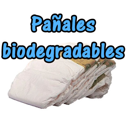 Pañales ecologicos biodegradables
