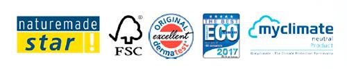 Certificados de calidad de Pingo 4